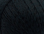 Composition 70% Coton mercerisé, 30% Viscose, Brand Kuka Yarns, Black, Yarn Thickness 2 Fine  Sport, Baby, fnt2-16798