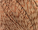 Composition 70% Coton mercerisé, 30% Viscose, Brand Kuka Yarns, Brown, Yarn Thickness 2 Fine  Sport, Baby, fnt2-16801