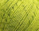 Composition 70% Coton mercerisé, 30% Viscose, Brand Kuka Yarns, Green, Yarn Thickness 2 Fine  Sport, Baby, fnt2-16807