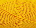 Fiber Content 50% Bamboo, 50% Cotton, Yellow, Brand ICE, Yarn Thickness 2 Fine  Sport, Baby, fnt2-41444