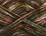 Composition 65% Acrylique, 35% Polyamide, Orange, Lilac, Khaki, Brand ICE, Green, Brown, fnt2-41703