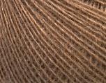 Composition 55% Acrylique, 25% Alpaga, 20% Laine, Light Brown, Brand ICE, fnt2-42146