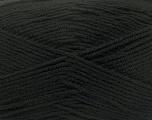 Composition 100% Micro Acrylic, Brand ICE, Black, fnt2-42284