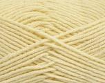 Composition 50% Laine, 50% Acrylique, Brand Ice Yarns, Dark Cream, Yarn Thickness 4 Medium  Worsted, Afghan, Aran, fnt2-42534