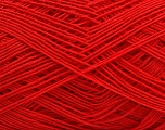 Composition 100% Coton, Red, Brand Ice Yarns, Yarn Thickness 2 Fine  Sport, Baby, fnt2-43160