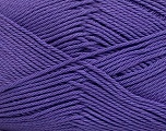 Composition 100% Coton mercerisé, Purple, Brand Ice Yarns, Yarn Thickness 2 Fine  Sport, Baby, fnt2-43398