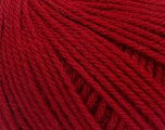 Machine washable pure merino wool. Lay flat to dry Composition 100% Superwash Merino Wool, Red, Brand Ice Yarns, Yarn Thickness 5 Bulky  Chunky, Craft, Rug, fnt2-43417