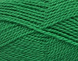 Composition 60% Laine vierge, 40% Acrylique, Brand Ice Yarns, Green, Yarn Thickness 2 Fine  Sport, Baby, fnt2-43548
