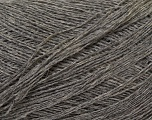 Composition 60% Baby Alpaga, 25% Laine mérinos, 15% Nylon, Brand Ice Yarns, Grey, fnt2-44010