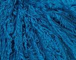 Composition 4% Cachemire, 4% Angora, 38% Polyamide, 33% Viscose, 21% Laine, Turquoise, Brand Ice Yarns, fnt2-44179