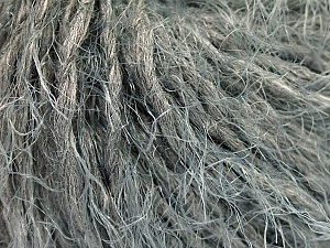 Fiber Content 50% Polyamide, 30% Acrylic, 20% Wool, Brand ICE, Grey, fnt2-49847