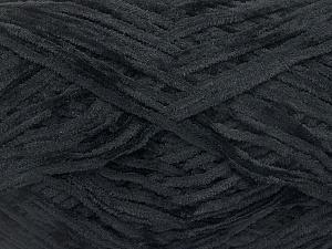 Fiber Content 100% Polyester, Brand ICE, Black, Yarn Thickness 1 SuperFine  Sock, Fingering, Baby, fnt2-50815
