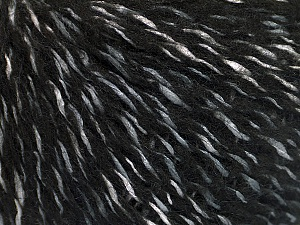 Mohair  Fiber Content 48% Acrylic, 31% Mohair, 21% Polyamide, Brand ICE, Grey, fnt2-51007