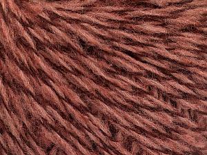 Fiber Content 40% Wool, 40% Acrylic, 20% Polyamide, Rose Pink, Maroon, Brand ICE, fnt2-51892