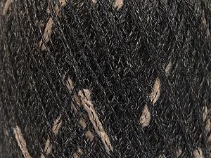 Fiber Content 60% Wool, 40% Polyamide, Light Brown, Brand ICE, Black, fnt2-52318