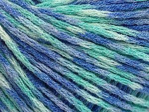 Fiber Content 60% Cotton, 40% Acrylic, Turquoise, Mint Green, Brand ICE, Blue, fnt2-55532
