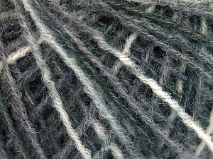 Fiber Content 50% Wool, 40% Polyamide, 10% Acrylic, Brand ICE, Grey Shades, fnt2-56149