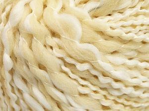 Fiber Content 6% Polyamide, 47% Acrylic, 47% Wool, White, Brand ICE, Cream, fnt2-56310