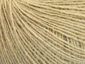 Fiber Content 50% Wool, 50% Acrylic, Brand ICE, Beige, Yarn Thickness 2 Fine  Sport, Baby, fnt2-56487
