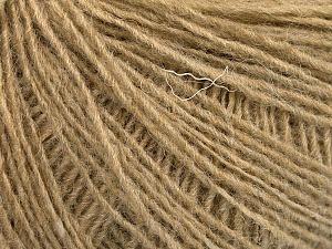 Fiber Content 50% Acrylic, 50% Wool, Light Camel, Brand ICE, Yarn Thickness 2 Fine  Sport, Baby, fnt2-56488