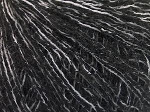 Fiber Content 50% Acrylic, 50% Wool, White, Brand ICE, Black, fnt2-56943