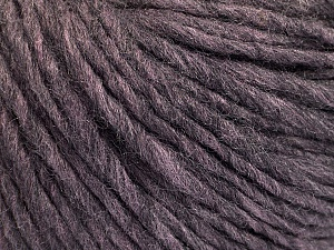 Fiber Content 50% Wool, 50% Acrylic, Maroon Melange, Brand ICE, Yarn Thickness 4 Medium  Worsted, Afghan, Aran, fnt2-57012