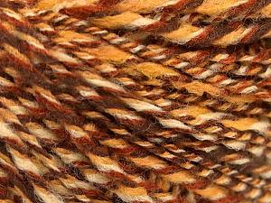 Fiber Content 50% Wool, 50% Acrylic, Brand ICE, Cream, Brown Shades, fnt2-57449