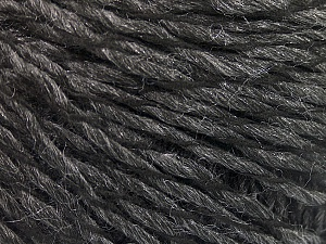 Fiber Content 90% Acrylic, 10% Polyamide, Brand ICE, Anthracite Black, fnt2-57459