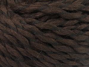Fiber Content 90% Acrylic, 10% Polyamide, Brand ICE, Dark Brown, fnt2-57461