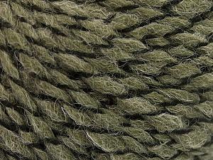 Fiber Content 50% Wool, 50% Acrylic, Khaki, Brand ICE, fnt2-57464