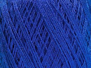Composition 90% Métallique Lurex, 10% Viscose, Brand ICE, Blue, fnt2-57851