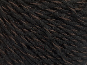Composition 50% Acrylique, 50% Laine, Brand ICE, Brown, Black, fnt2-57990