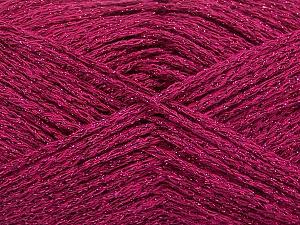 Composition 50% Coton, 30% Acrylique, 20% Métallique Lurex, Brand ICE, Fuchsia, fnt2-58013