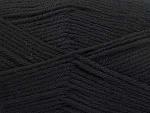 Composition 100% Superwash Wool, Brand ICE, Black, fnt2-58180