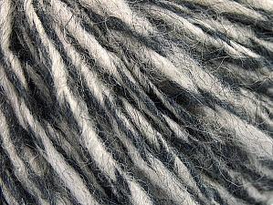 Composition 70% Laine, 30% Acrylique, Brand ICE, Grey Shades, fnt2-58349