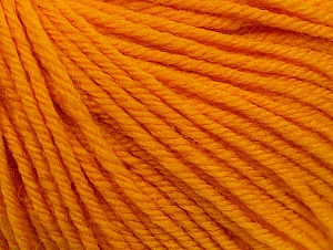 SUPERWASH WOOL is a DK weight 100% superwash wool yarn. Perfect stitch definition, and a soft-but-sturdy finished fabric. Projects knit and crocheted in SUPERWASH WOOL are machine washable! Lay flat to dry. Composition 100% Superwash Wool, Brand ICE, Gold, fnt2-58386