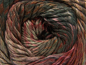 Composition 70% Laine, 30% Acrylique, Salmon, Khaki, Brand ICE, Brown, Anthracite, Yarn Thickness 5 Bulky  Chunky, Craft, Rug, fnt2-58437