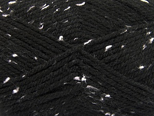 Composition 95% Acrylique, 5% Viscose, White, Brand ICE, Black, fnt2-59760