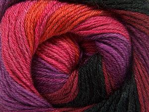 Composition 70% Acrylique, 30% Laine mérinos, Purple, Pink, Orange, Brand ICE, Burgundy, Black, fnt2-59778