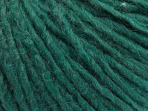 Composition 50% Acrylique, 50% Laine, Brand ICE, Dark Emerald Green, fnt2-59811