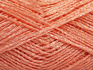 Composition 80% Viscose, 20% Polyamide, Salmon, Brand ICE, fnt2-59855