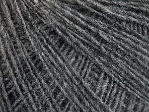 Composition 50% Acrylique, 50% Laine, Brand ICE, Grey, fnt2-60007