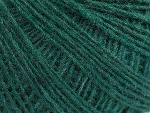 Composition 50% Laine, 50% Acrylique, Brand ICE, Dark Green, fnt2-60042