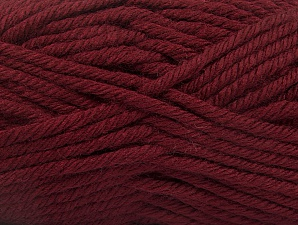 Composition 100% Acrylique, Brand ICE, Dark Burgundy, Yarn Thickness 6 SuperBulky  Bulky, Roving, fnt2-60095