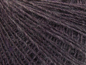 Composition 50% Laine, 50% Acrylique, Brand ICE, Dark Lilac, Yarn Thickness 2 Fine  Sport, Baby, fnt2-60185