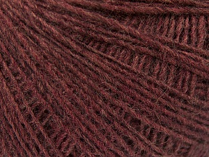 Composition 50% Laine mérinos, 25% Alpaga, 25% Acrylique, Light Maroon, Brand ICE, Yarn Thickness 2 Fine  Sport, Baby, fnt2-60187