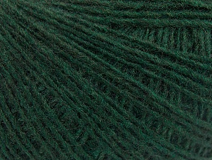 Composition 50% Laine, 50% Acrylique, Brand ICE, Dark Green, Yarn Thickness 2 Fine  Sport, Baby, fnt2-60196