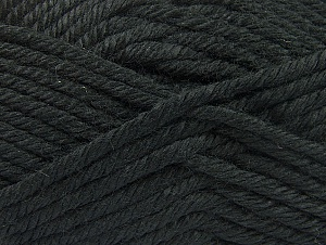 Composition 100% Acrylique, Brand ICE, Black, Yarn Thickness 6 SuperBulky  Bulky, Roving, fnt2-60213