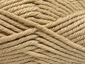 Composition 100% Acrylique, Brand ICE, Beige, Yarn Thickness 6 SuperBulky  Bulky, Roving, fnt2-60215