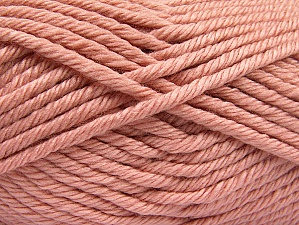 Composition 100% Acrylique, Light Pink, Brand ICE, Yarn Thickness 6 SuperBulky  Bulky, Roving, fnt2-60217